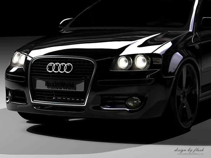 Renderworld Audi A3