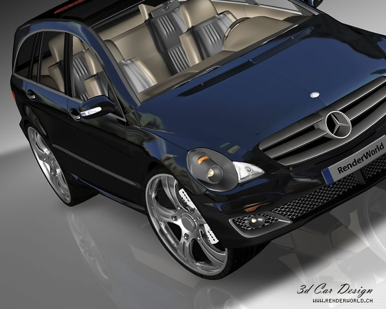 Renderworld Mercedes Benz R-Klasse AMG