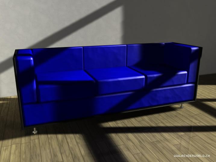 Sofa Texturierung