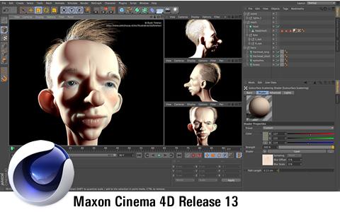 Maxon Cinema 4D Release 13